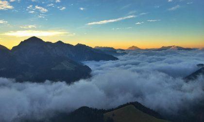 Nebbia in Val Brembana – Giacomo Milesi