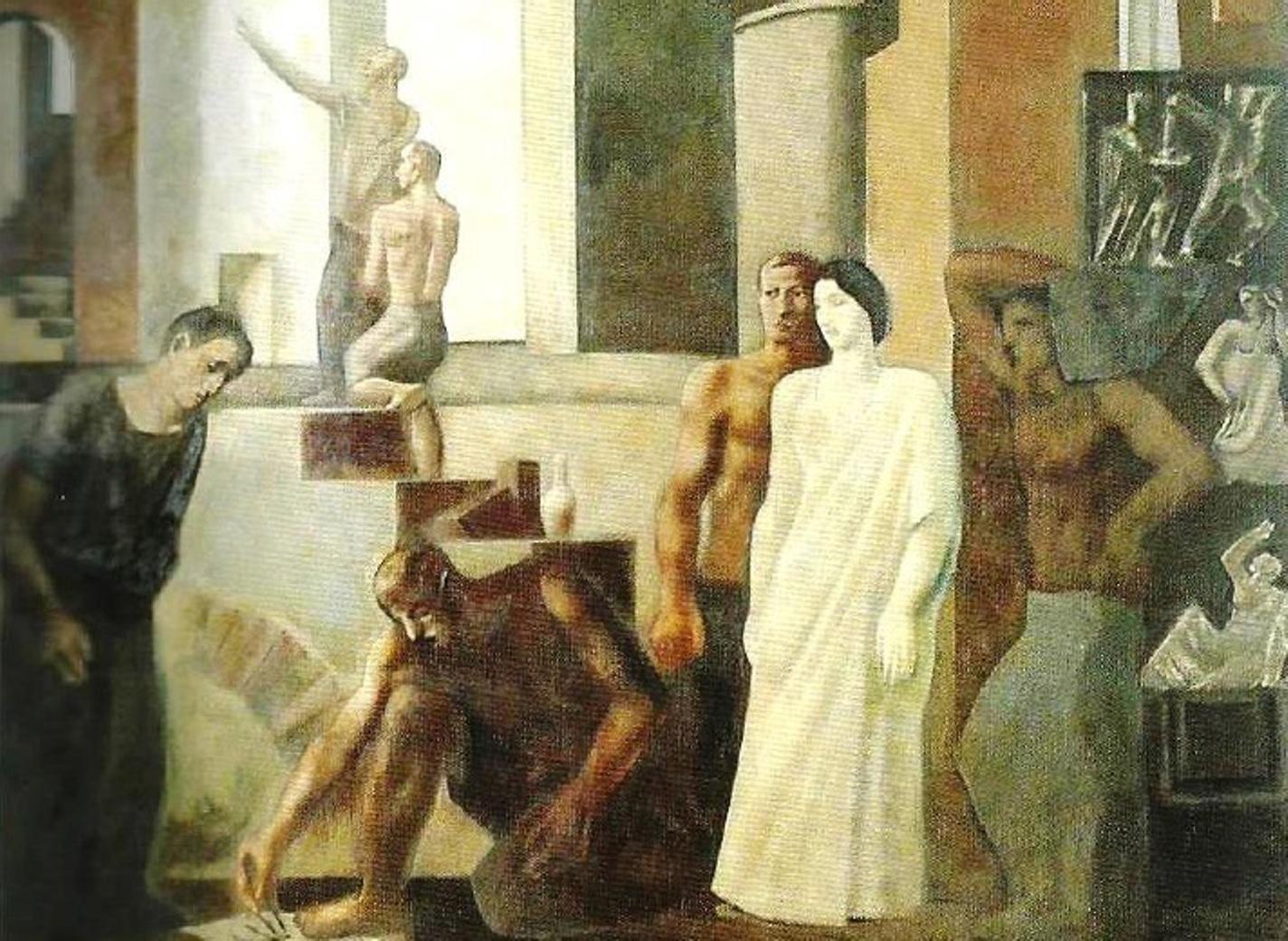 Storia Dei Due Capolavori Di Sironi Che Decorano Le Poste Di Bergamo Prima Bergamo