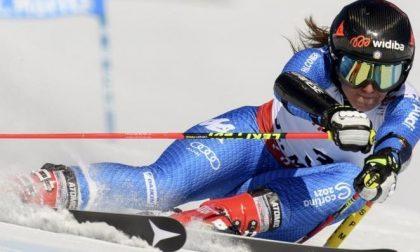 Inarrestabile Sofia Goggia: a Crans Montana terzo trionfo consecutivo in discesa libera