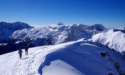 Su e giù dal monte Sasna Camminando tra neve e storia