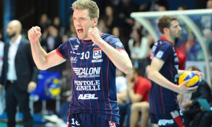 Olimpia, confermato Hoogendoorn L'olandese volerà ancora a Bergamo