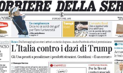 Le prime pagine dei giornali venerdì 31 marzo 2017