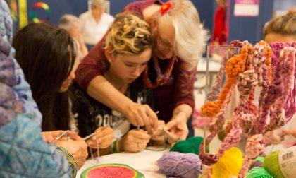 Uncinetto 3D e festival delle perline Creattiva diventa ancora più grande