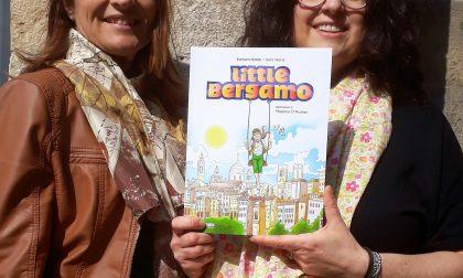Bambini pronti a sfogliare la città con il libro-gioco Little Bergamo