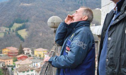 """Emanuele, il """"muezzin"""" di Gandino senza più voce, ma l'urlo è dal cuore"""