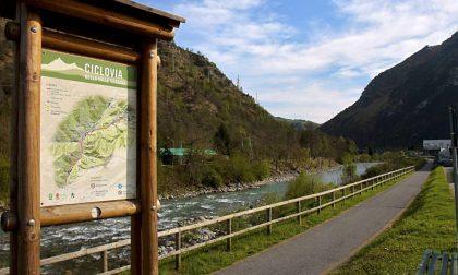 Chiuse le piste ciclabili di Valle Brembana e Valle Seriana