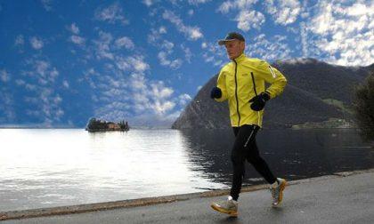 Battista, bisnonno e super runner Correrà per 8mila km in Canada
