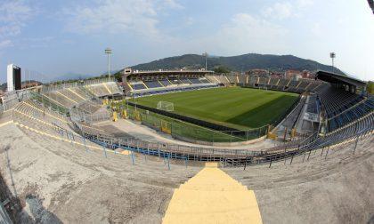 Lo stadio all'Atalanta, l'annuncio