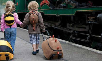 A scuola adesso si va con il trolley (che fa meno male alla schiena)