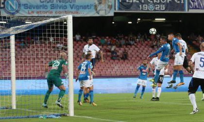 Dea a testa alta, ma il Napoli è troppo forte (3-1)
