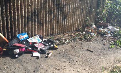 Sulle ciclabili seriatesi tra i rifiuti Dov'è finito il senso civico?