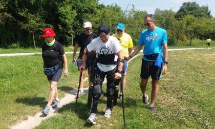 L'alpinista che non può camminare e il miracoloso esoscheletro robot