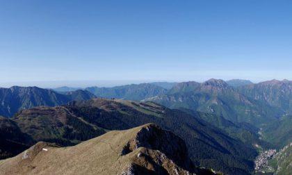 Monte Secco, inedita Val Brembana