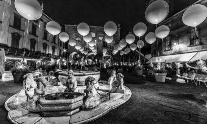 Piazza Vecchia in b/n - Giuseppe Agati