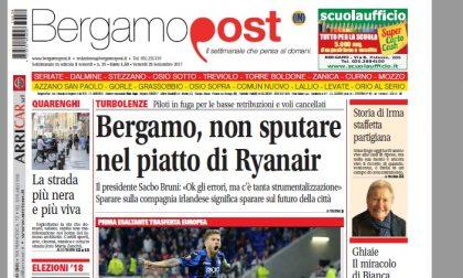 Cosa c'è nel nuovo BergamoPost che dal 29 settembre è in edicola
