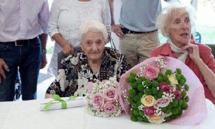 Angela, 104 anni col sorriso