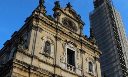 Il campanile di Stezzano è pronto Gli angeli aprono di nuovo le ali