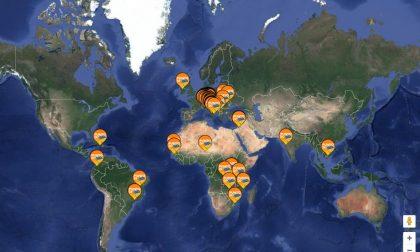 La mappa che segna le buone azioni (e a Bergamo ce n'è qualcuna?)