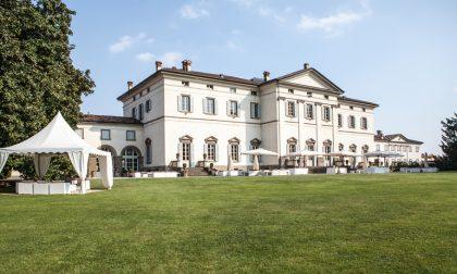 Tour nelle sale di Villa Zanchi che rivive in tutto il suo splendore