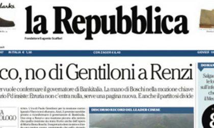 Le prime pagine dei giornali giovedì 19 ottobre 2017