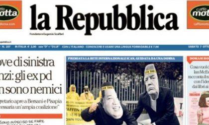 Le prime pagine dei giornali sabato 7 ottobre 2017