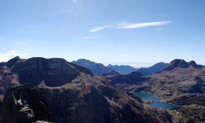 Su fino alla meraviglia in cima Escursione al Pizzo del Becco