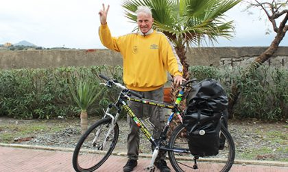 Diario di un bizzarro 80enne in bici