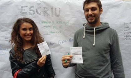 Il voto per l'indipendenza catalana raccontato da due giovani leghisti