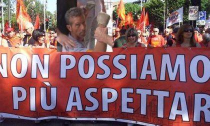 Quei cento scesi in piazza sabato al grido di «Bossetti libero!»