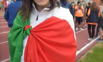 Marta, una passione per l'atletica Primo oro da capitano ai nazionali