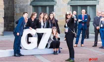 Pillole e immagini del G7 a Bergamo