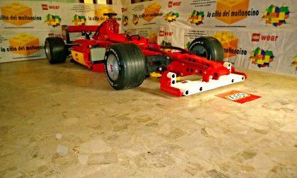 I Lego scendono in piazza S. Spirito con Ferrari e grandi navi da crociera