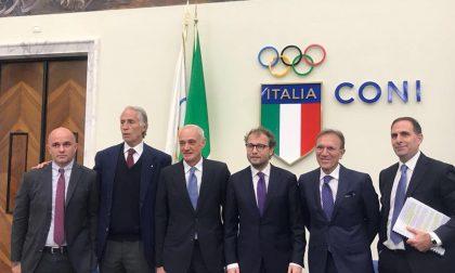 «Grazie Atalanta, viva l'Atalanta» Al Coni applausi per il nuovo stadio