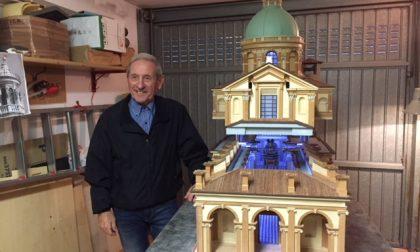 Santuario di Caravaggio in miniatura Undici anni di impegno e passione