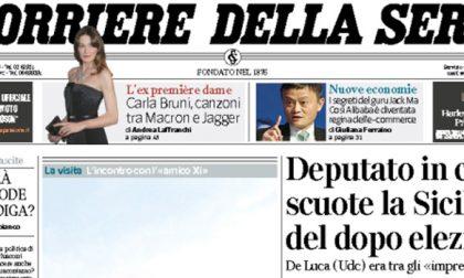 Le prime pagine dei giornali giovedì 9 novembre 2017