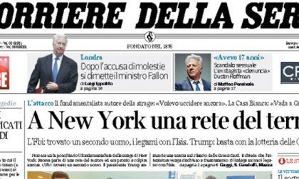 Le prime pagine dei giornali giovedì 2 novembre 2017
