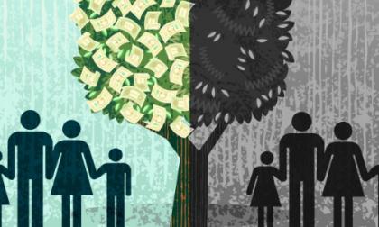 In Italia cresce la disuguaglianza tra poveri veri e super-ricchi