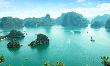 Posti fantastici e dove trovali Halong Bay, meraviglia del mondo