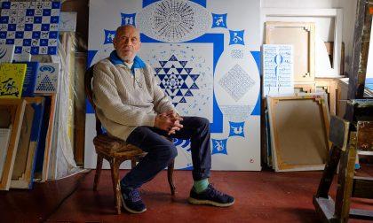 Coter, il pittore bergamasco che ha dichiarato guerra all'umanità