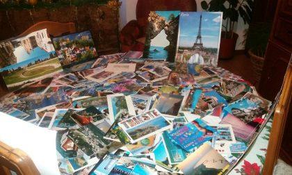 Adesso Alessio punta al guinness con le sue oltre 57mila cartoline