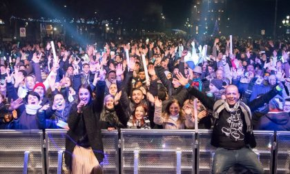 Ivan Cattaneo e Radio Number One Ultimo dell'anno a pois in centro