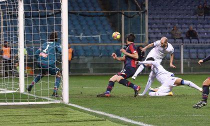 La trasferta non fa più male Genoa battuto 1-2 e tre punti
