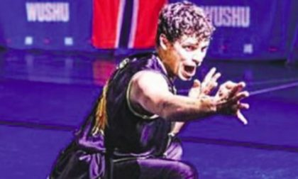 Il rigore di Andrea da Azzano Campione italiano di Wushu