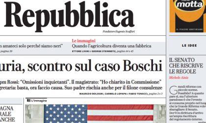 Le prime pagine dei giornali martedì 5 dicembre 2017