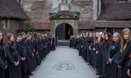 La scuola di magia di Harry Potter a maggio nel castello di Soncino