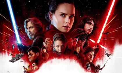 Il film da vedere nel weekend Gli ultimi Jedi, il ritorno della Forza