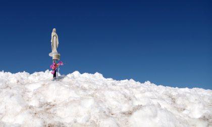 Su in cima al Monte Madonnino una nostra vetta di tutto rispetto