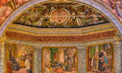 Il gesuita di Stezzano che affrescò la «Cappella Sistina d'India»