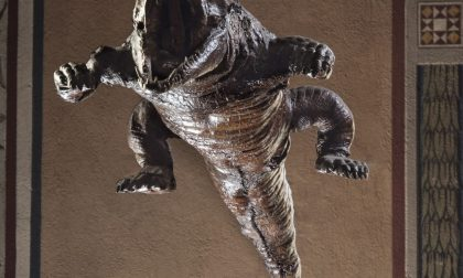 La mostra e la bestia al Bernareggi Dipinti e coccodrillo di Pontenossa