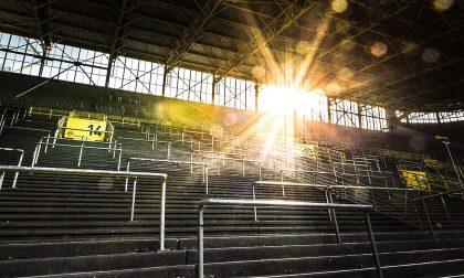 Video di uno stadio da sogno per una partita da sogno